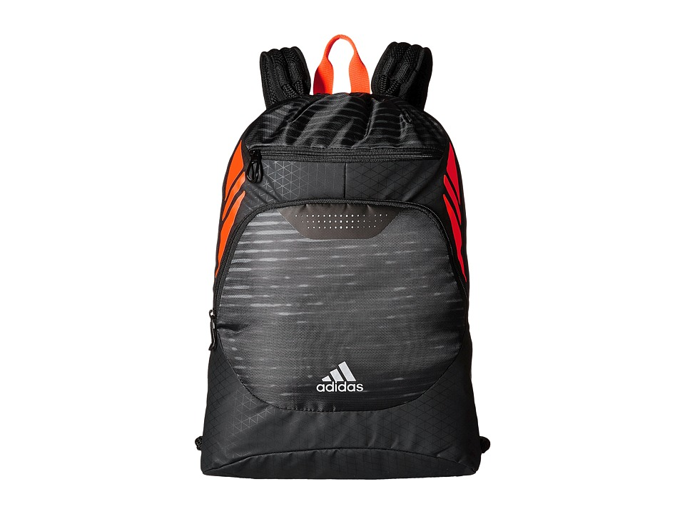 adidas - Ultimate Menace II Sackpack (Illuminated/Solar Orange) Bags