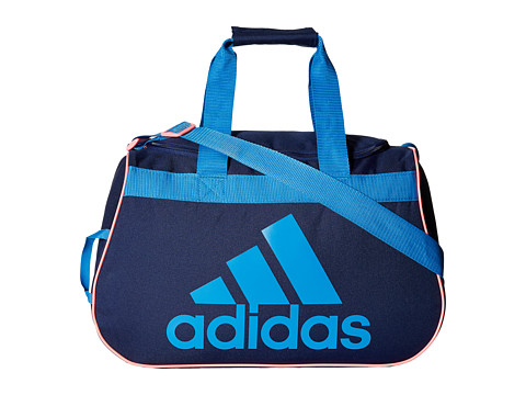 adidas - Diablo Small Duffel (Midnight Indigo/Super Blue/Light Flash Red) Duffel Bags