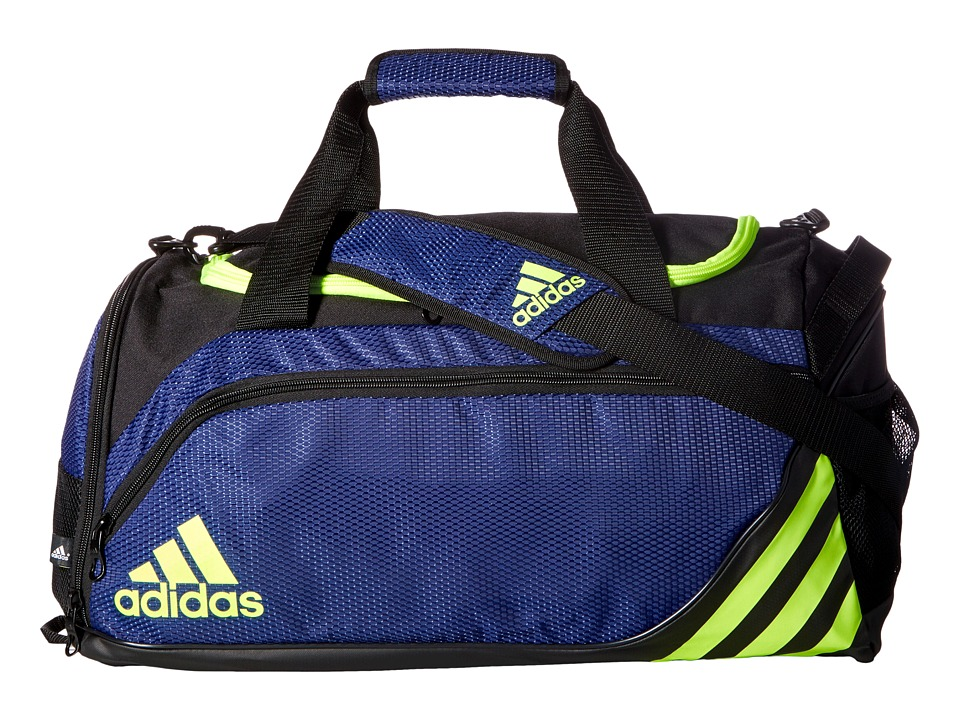 adidas - Team Speed Duffel - Small (Midnight Indigo/Solar Yellow/Bold Blue) Duffel Bags