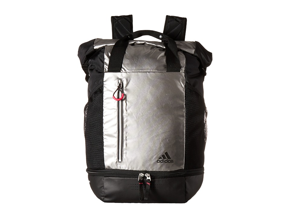 adidas - Athletic Backpack (Iron Metallic) Backpack Bags