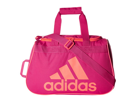 adidas - Diablo Small Duffel (Bold Pink/Flash Red) Backpack Bags