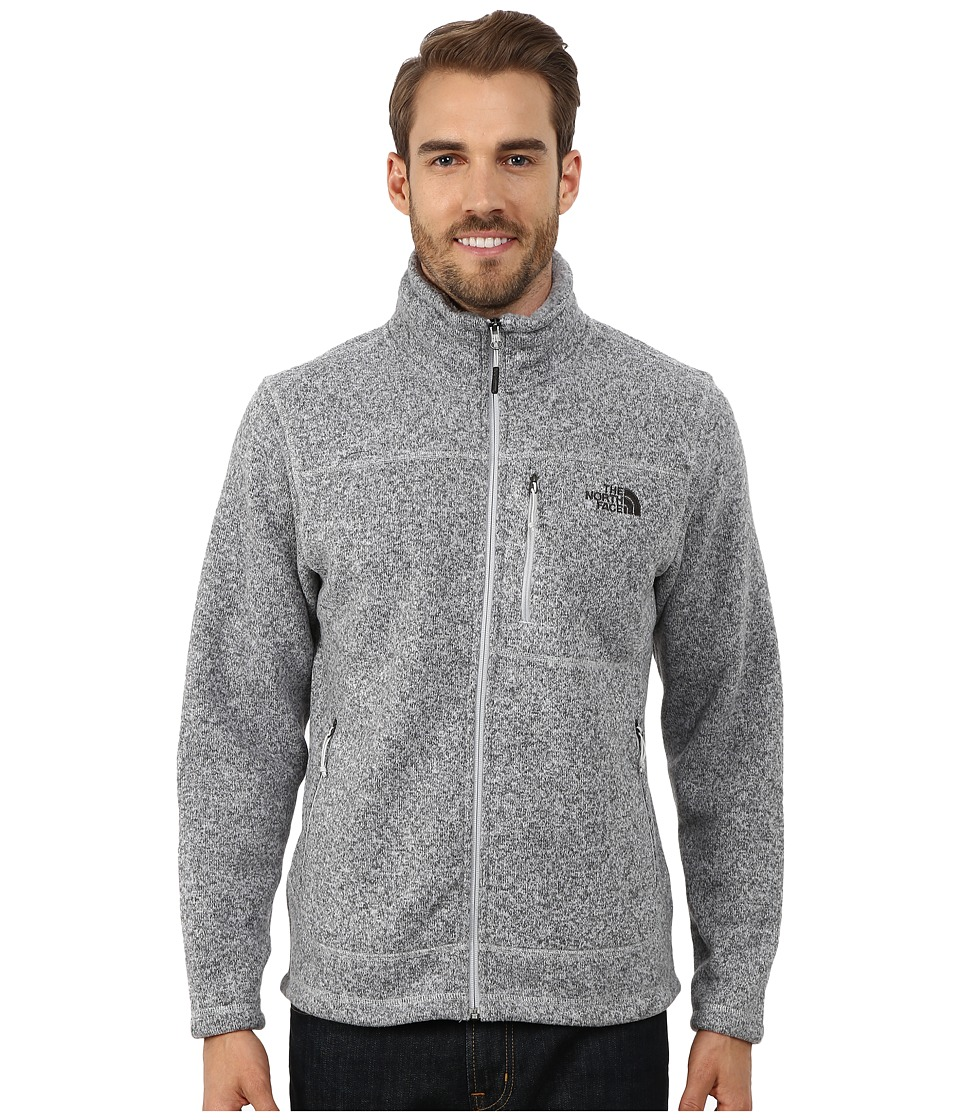 The North Face - Gordon Lyons Full Zip Fleece (High Rise Grey Heather) Men's Fleece