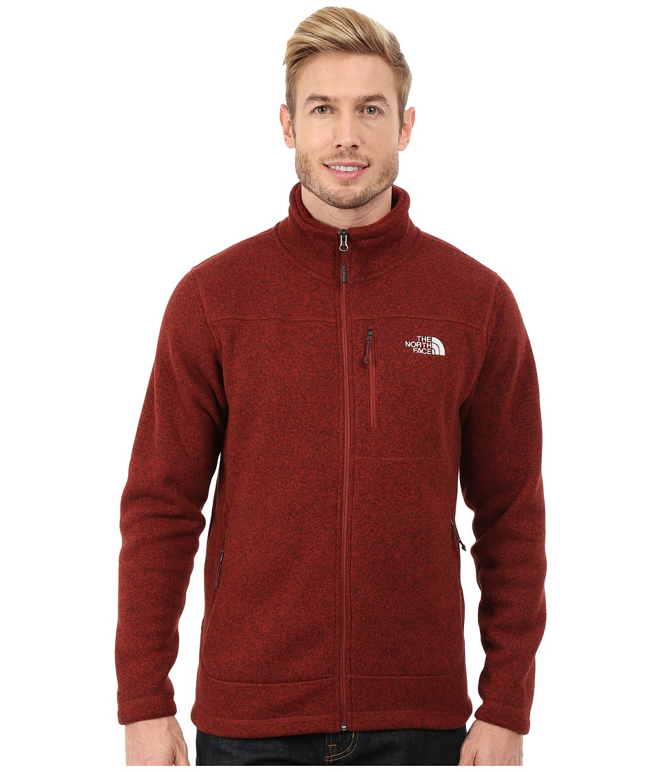 The North Face - Gordon Lyons Full Zip Fleece (Brick House Red Heather) Men's Fleece