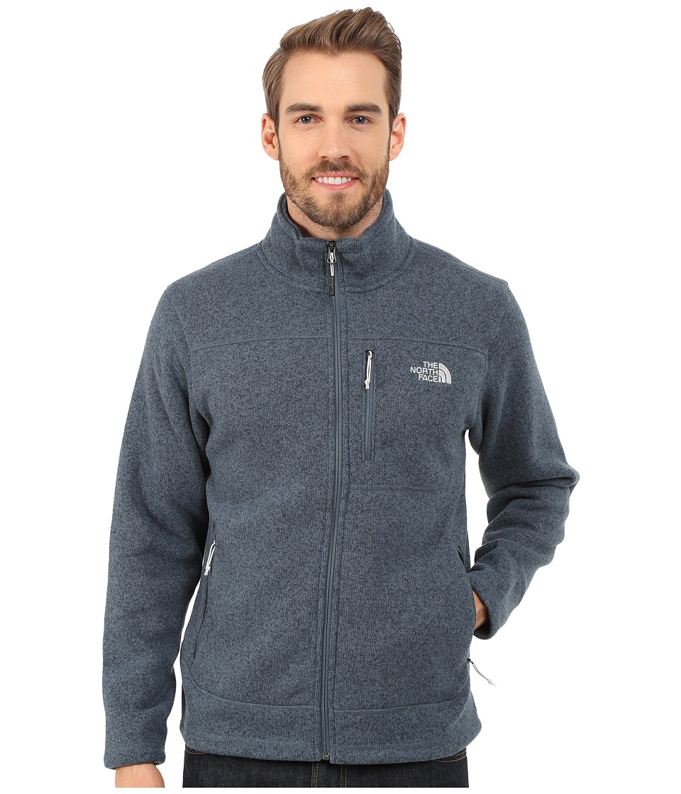 The North Face - Gordon Lyons Full Zip Fleece (Conquer Blue Heather) Men's Fleece