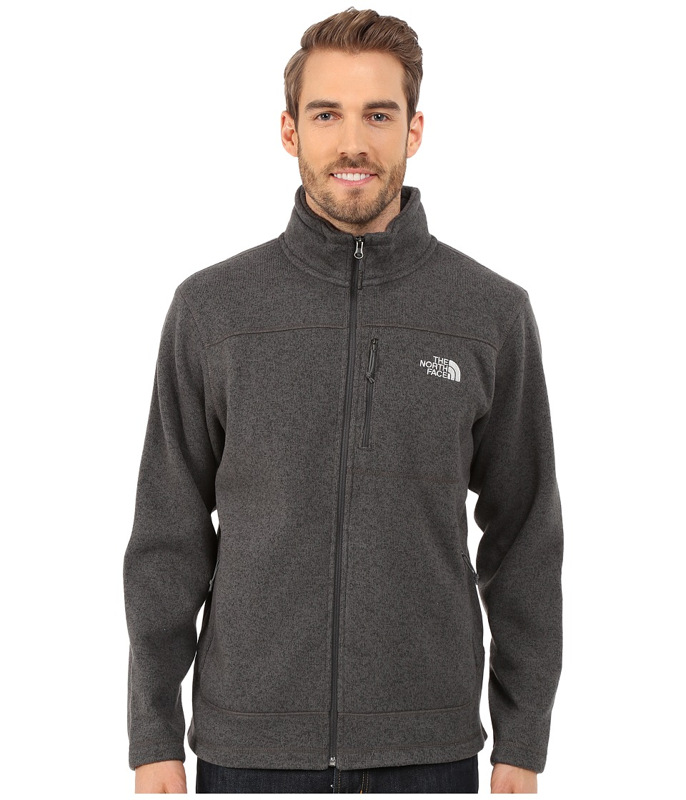 The North Face - Gordon Lyons Full Zip Fleece (Asphalt Grey Heather (Prior Season)) Men's Fleece