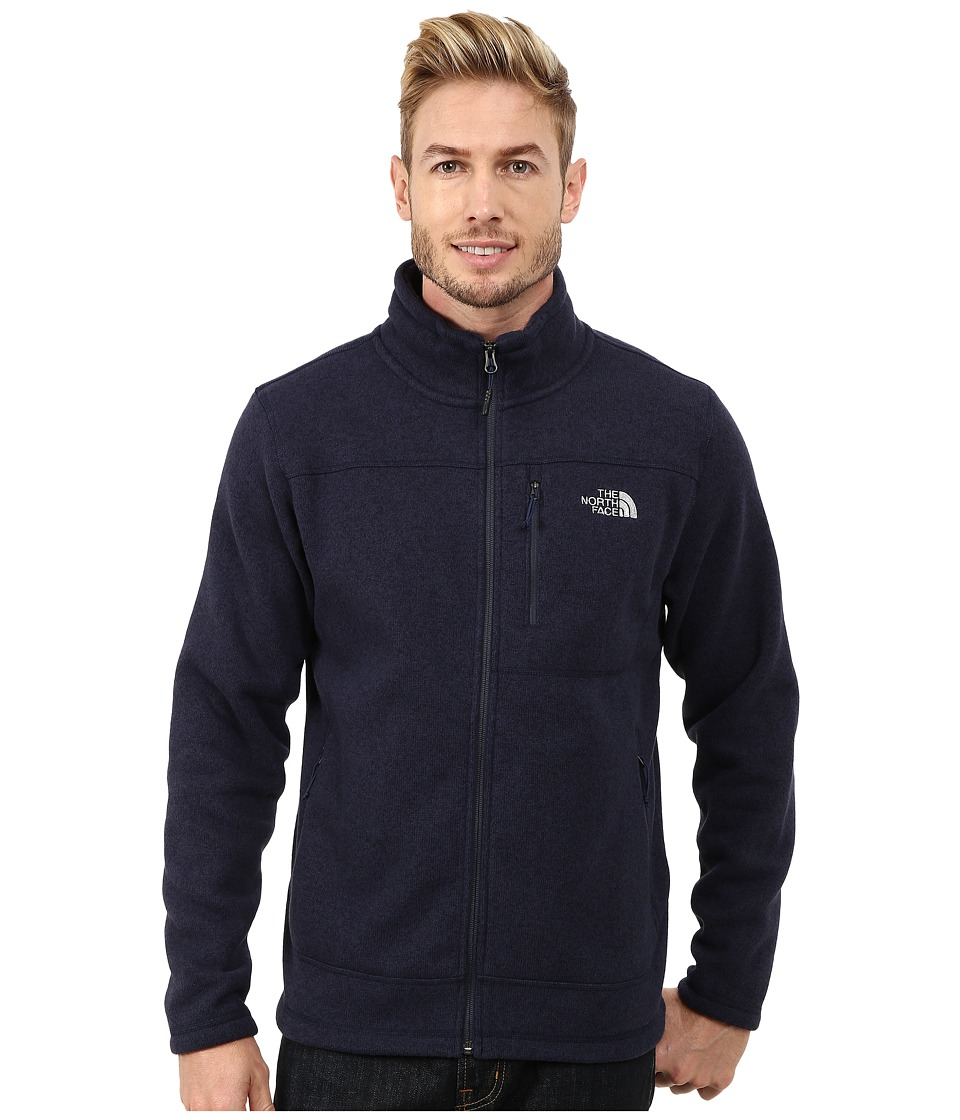 The North Face - Gordon Lyons Full Zip Fleece (Cosmic Blue Heather) Men's Fleece