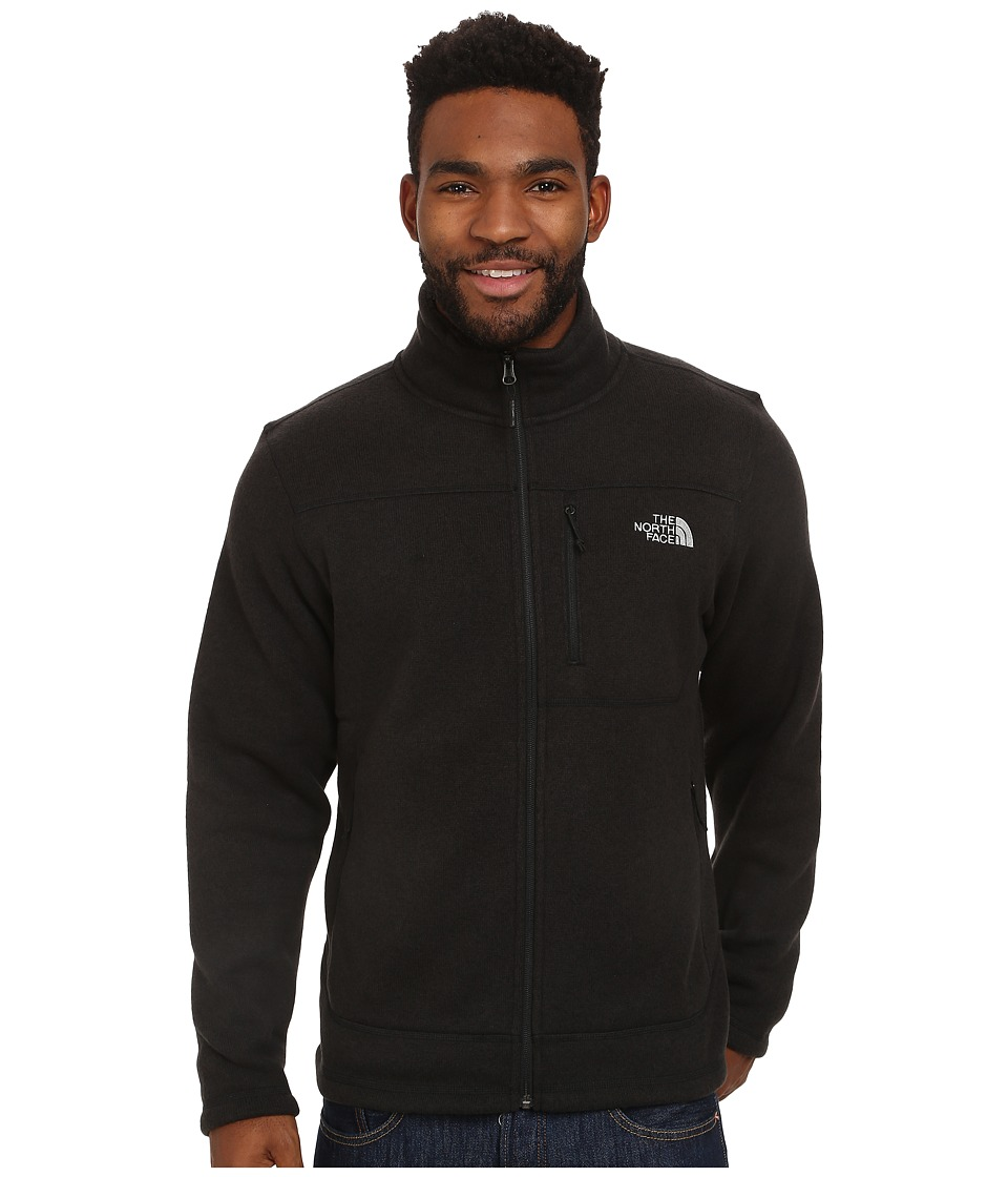 The North Face - Gordon Lyons Full Zip Fleece (TNF Black Heather) Men's Fleece