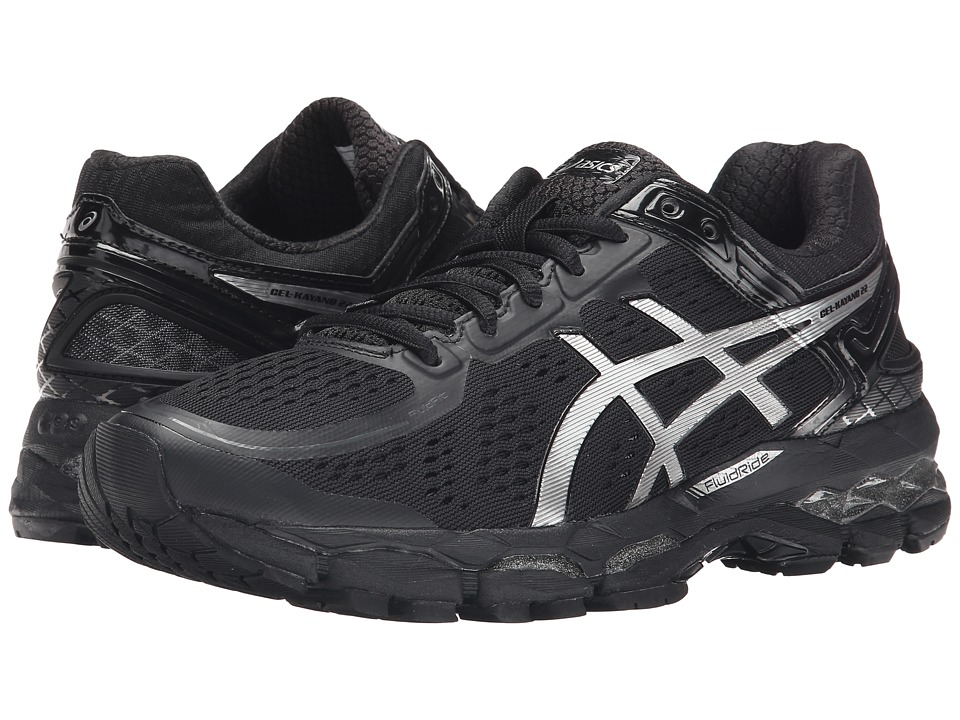 ASICS - GEL-Kayano 22 (Onyx/Silver/Charcoal) Women's Running Shoes