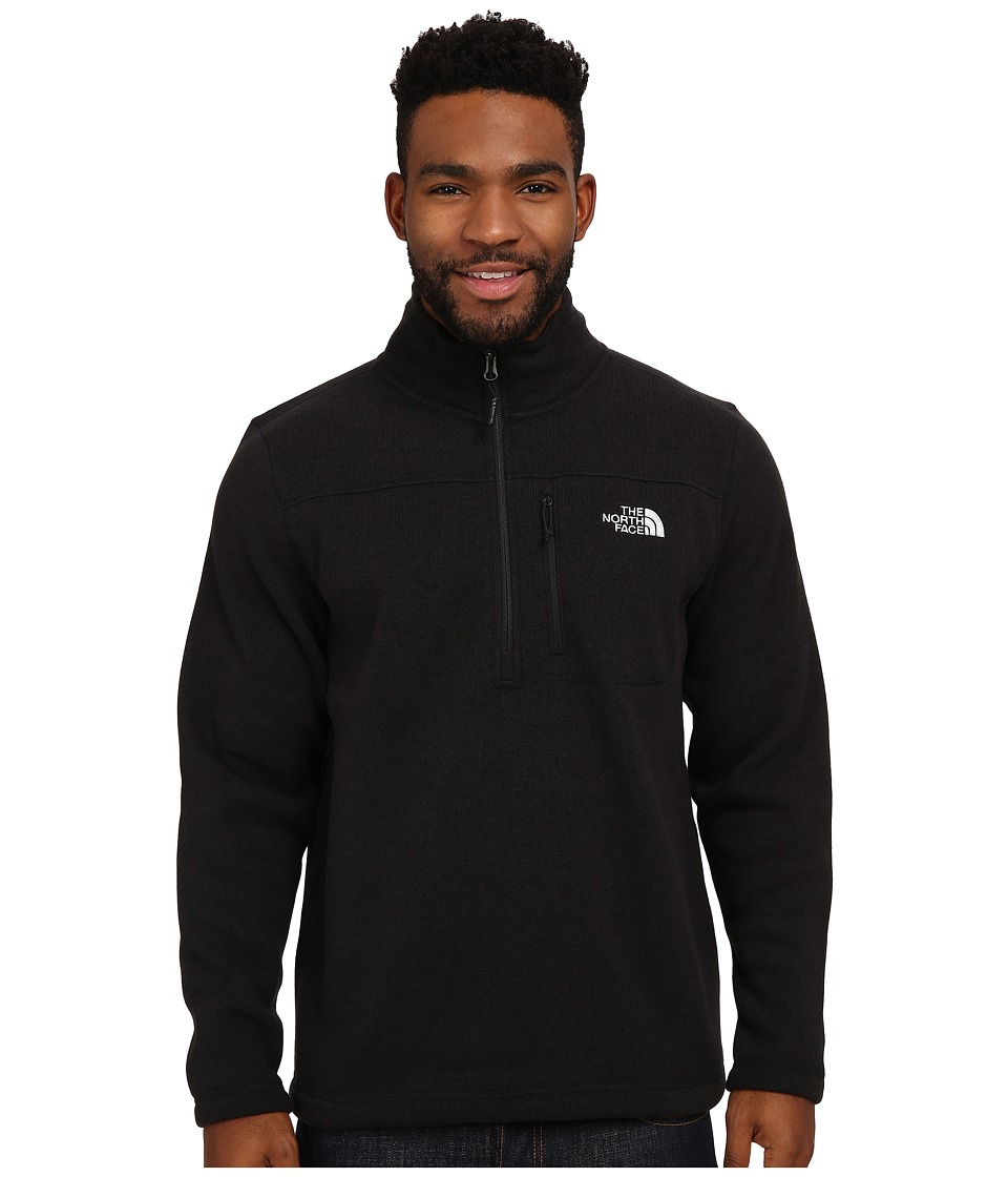 The North Face - Gordon Lyons 1/4 Zip Pullover (TNF Black Heather) Men's Long Sleeve Pullover