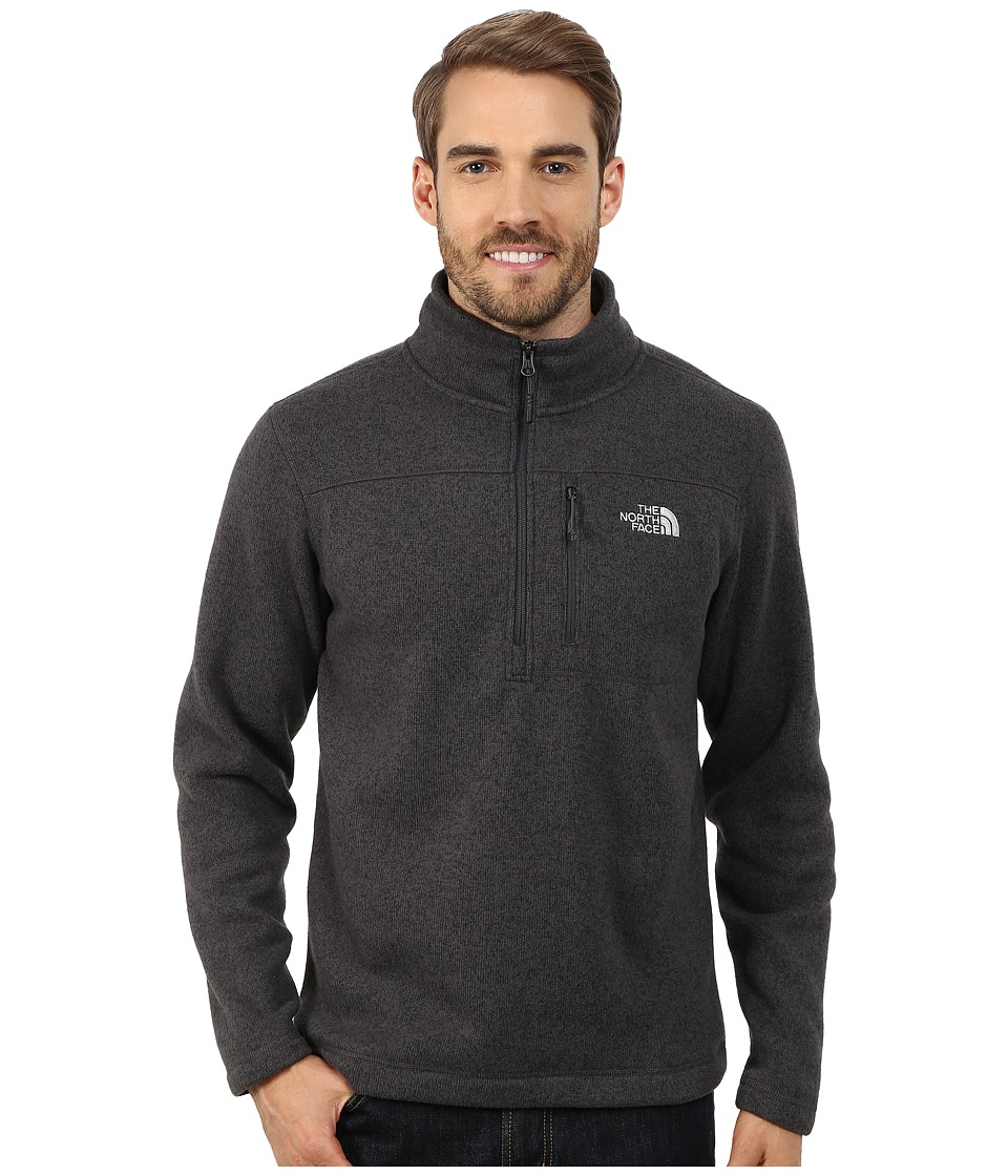 The North Face - Gordon Lyons 1/4 Zip Pullover (Asphalt Grey Heather (Prior Season)) Men's Long Sleeve Pullover
