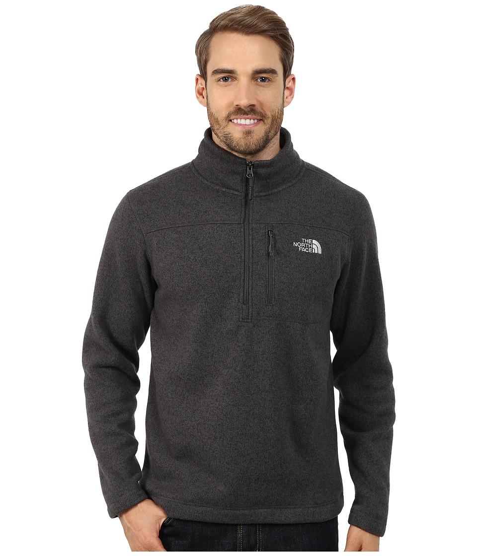 The North Face - Gordon Lyons 1/4 Zip Pullover (Asphalt Grey Heather) Men's Long Sleeve Pullover