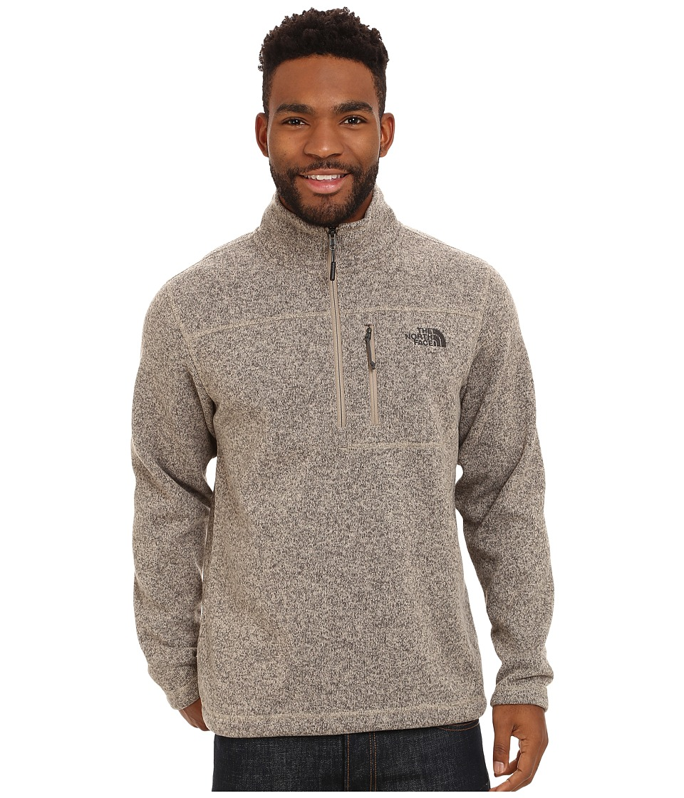 The North Face - Gordon Lyons 1/4 Zip Pullover (Dune Beige Heather) Men's Long Sleeve Pullover