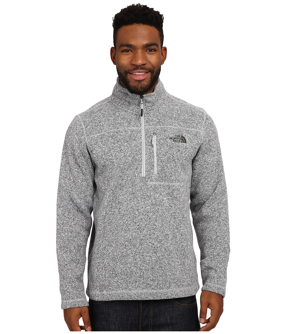 The North Face - Gordon Lyons 1/4 Zip Pullover (High Rise Grey Heather) Men's Long Sleeve Pullover