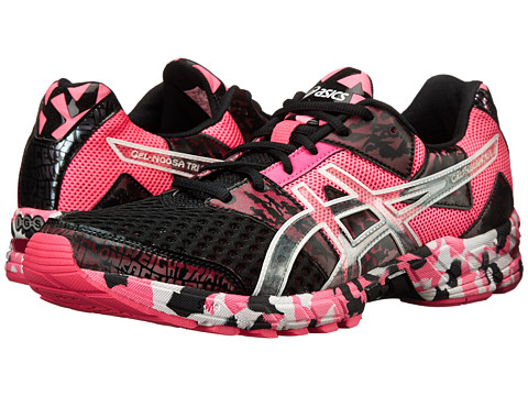 ASICS - Gel-Noosa Tri 8 (Hot Pink/White/Black) Men's Running Shoes