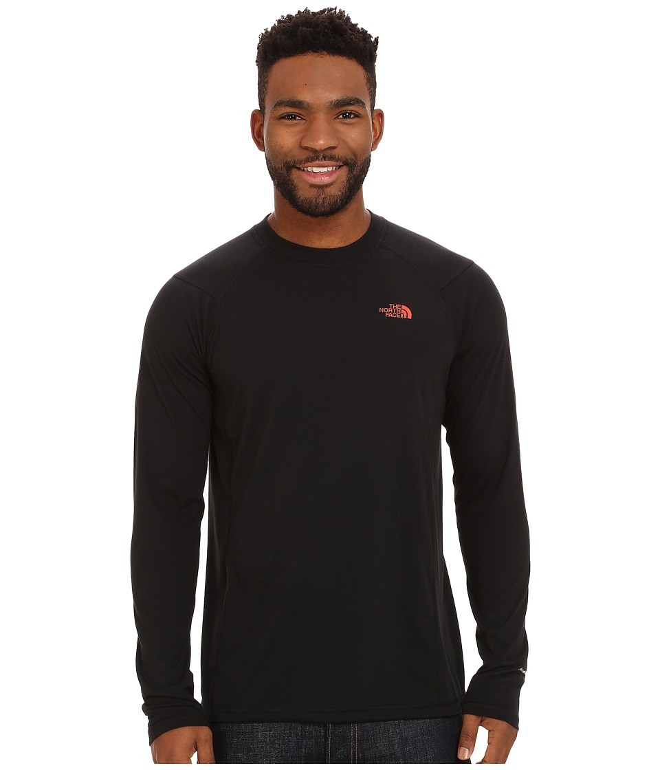 The North Face - Long Sleeve FlashDry Crew (TNF Black) Men's Sweatshirt