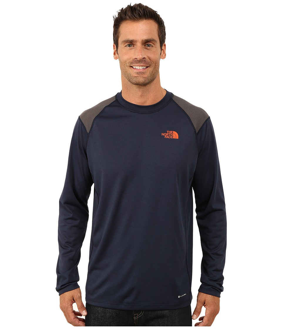 The North Face - Long Sleeve Paramount Tech Tee (Cosmic Blue) Men's Long Sleeve Pullover