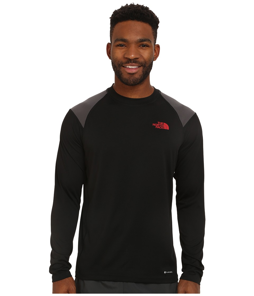 The North Face - Long Sleeve Paramount Tech Tee (TNF Black) Men