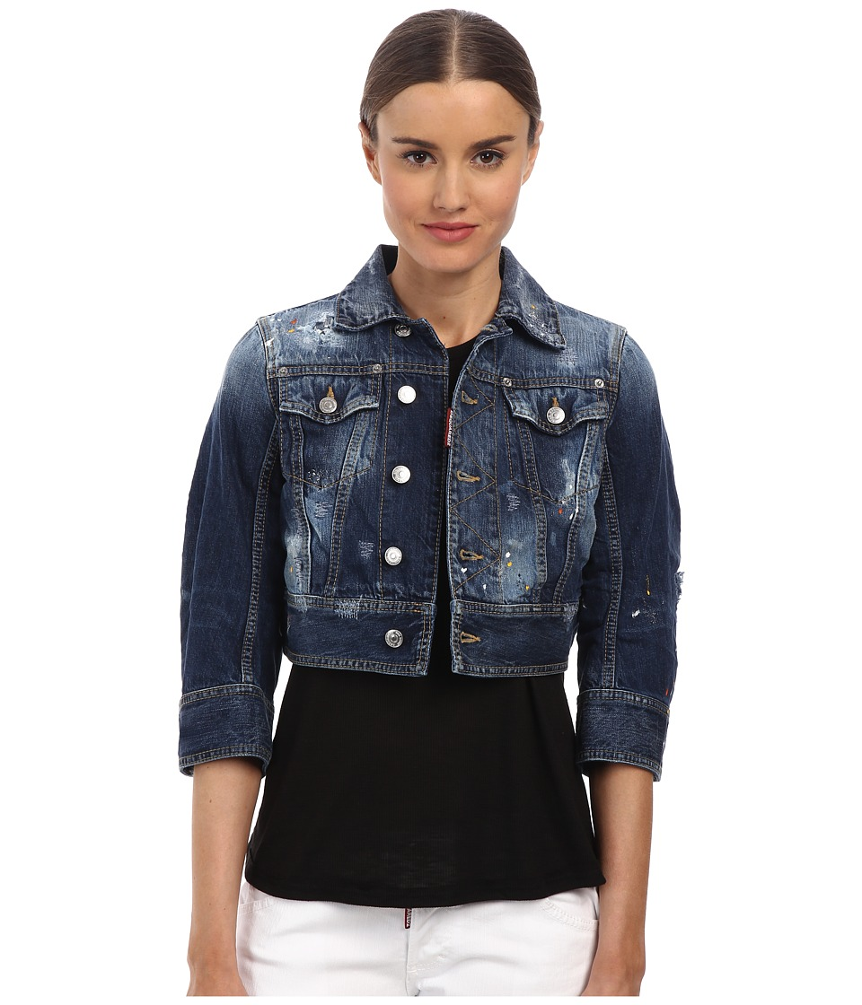 DSQUARED2 - Kawaii Jean Jacket (Blue) Women's Coat