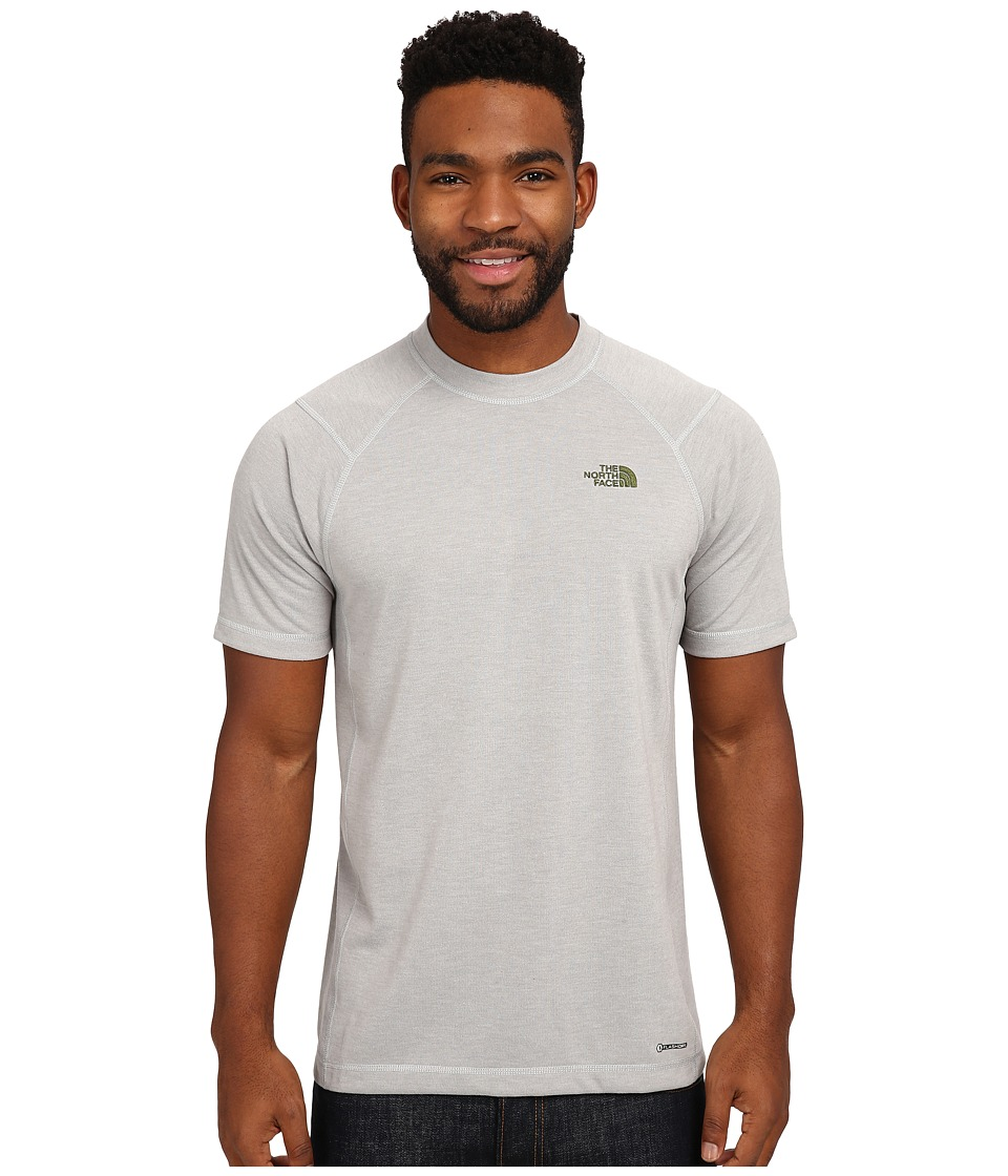 The North Face - Short Sleeve RDT Crew Tee (High Rise Grey Heather) Men