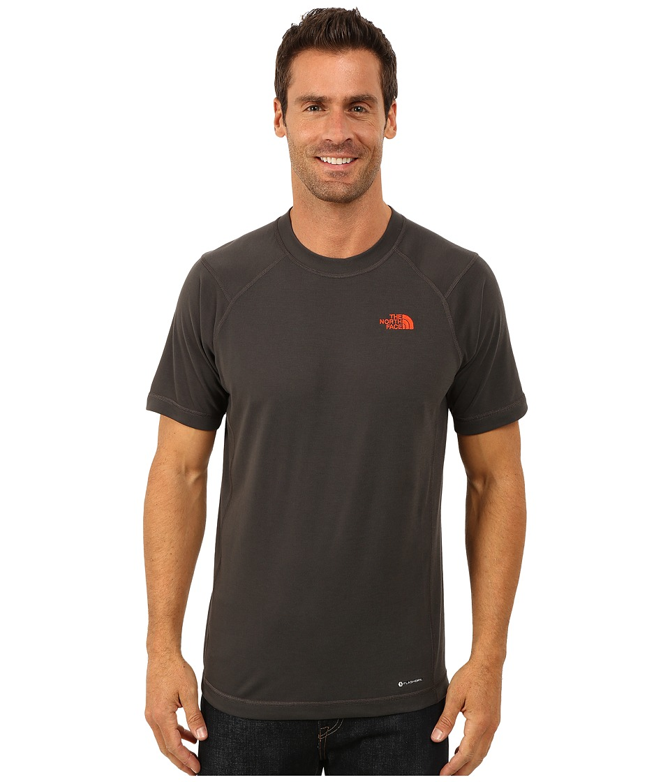 The North Face - Short Sleeve RDT Crew Tee (Asphalt Grey) Men's T Shirt