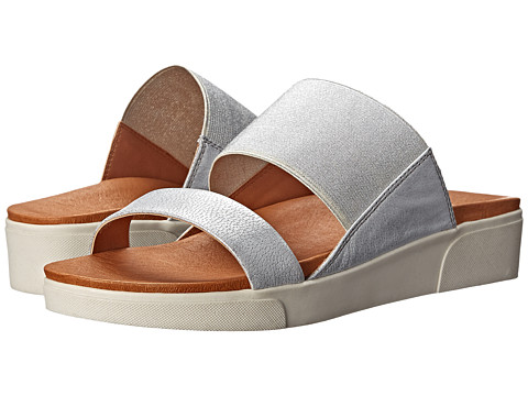 Gentle Souls - Layton (Silver) Women's Sandals