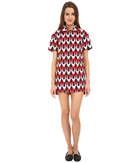DSQUARED2 - Serrures Polo Dress (Mix Colours) Women