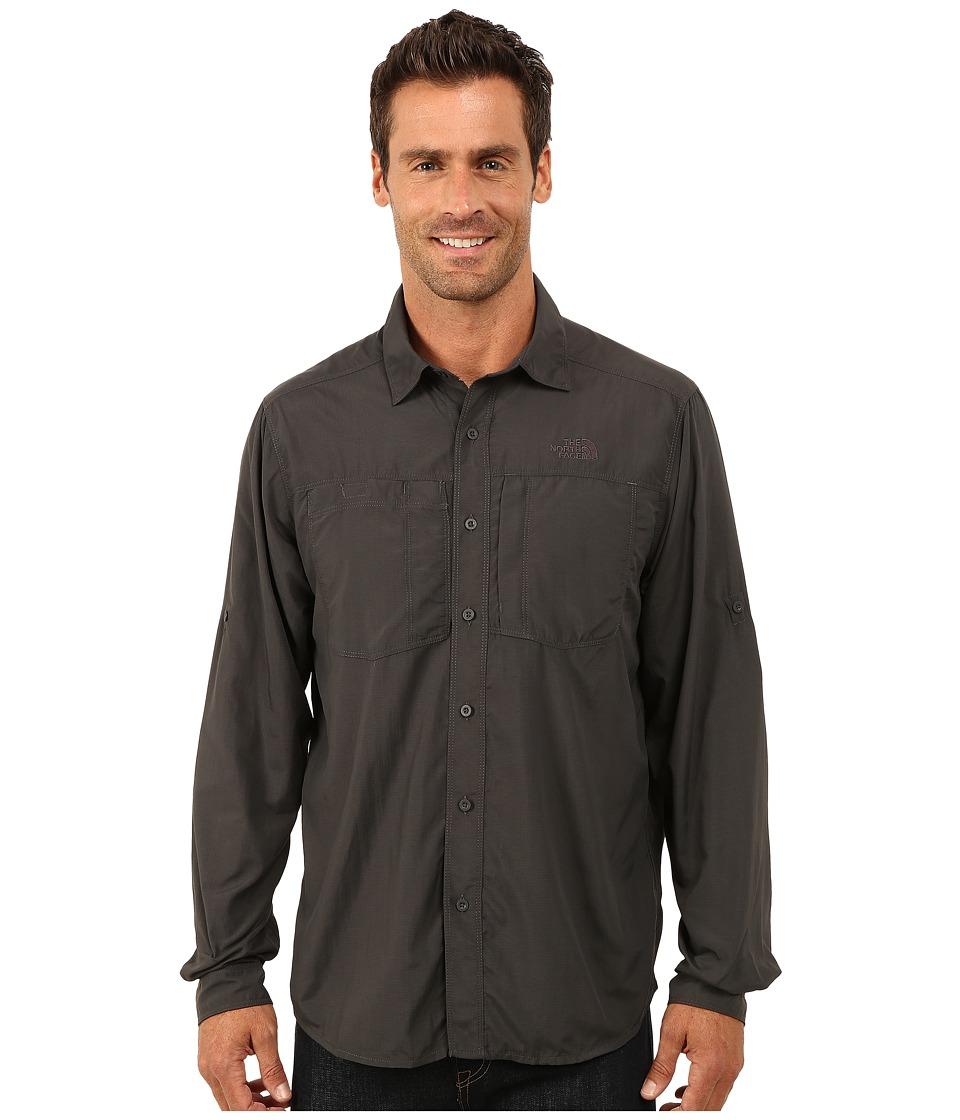 The North Face - Long Sleeve Tek Hike Shirt (Asphalt Grey) Men