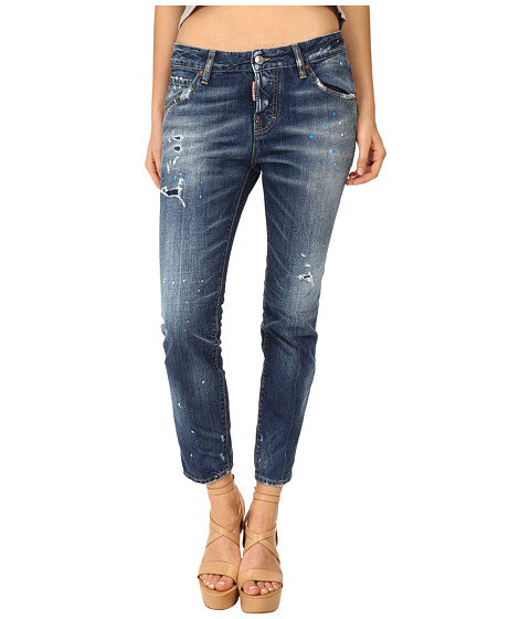 DSQUARED2 - Cool Girl Jeans in Blue (Blue) Women's Jeans