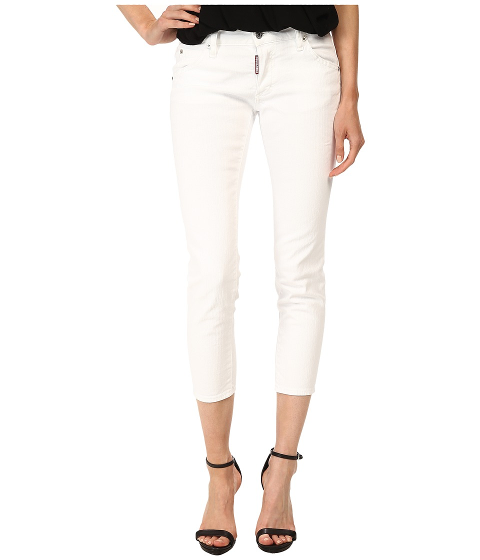 DSQUARED2 - Deana Jeans in White (White) Women's Jeans