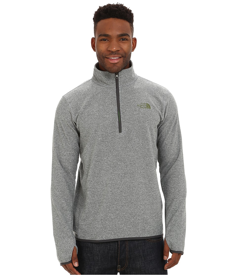 The North Face - Rockland 1/4 Zip Pullover (Mid Grey Heather) Men