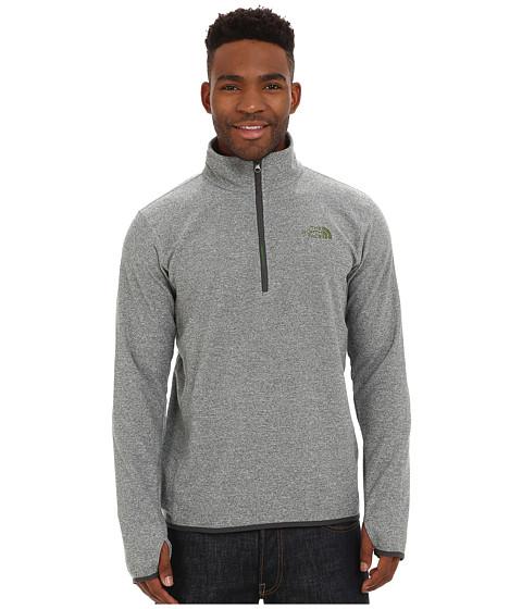 The North Face - Rockland 1/4 Zip Pullover (Mid Grey Heather) Men's Sweatshirt