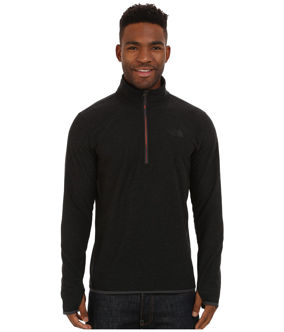 The North Face - Rockland 1/4 Zip Pullover (TNF Black) Men's Sweatshirt