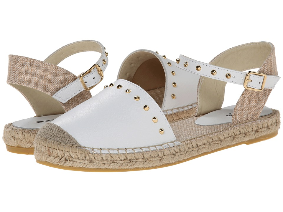 Dune London - Joka (White Leather) Women's Sandals
