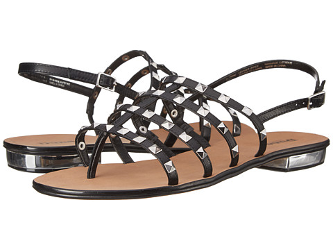 Dune London - Katrine (Black Leather) Women's Sandals