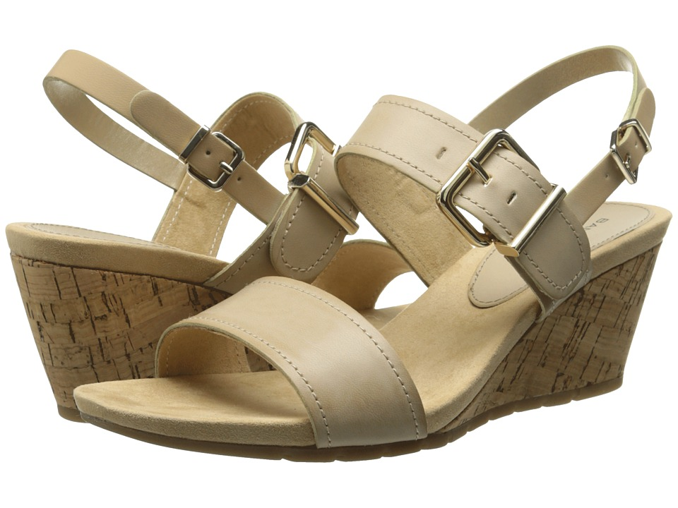Bandolino - Gladis (Light Natural Synthetic) Women's Wedge Shoes