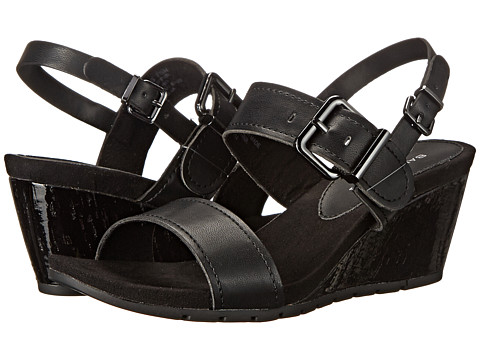 Bandolino - Gladis (Black Synthetic) Women's Wedge Shoes