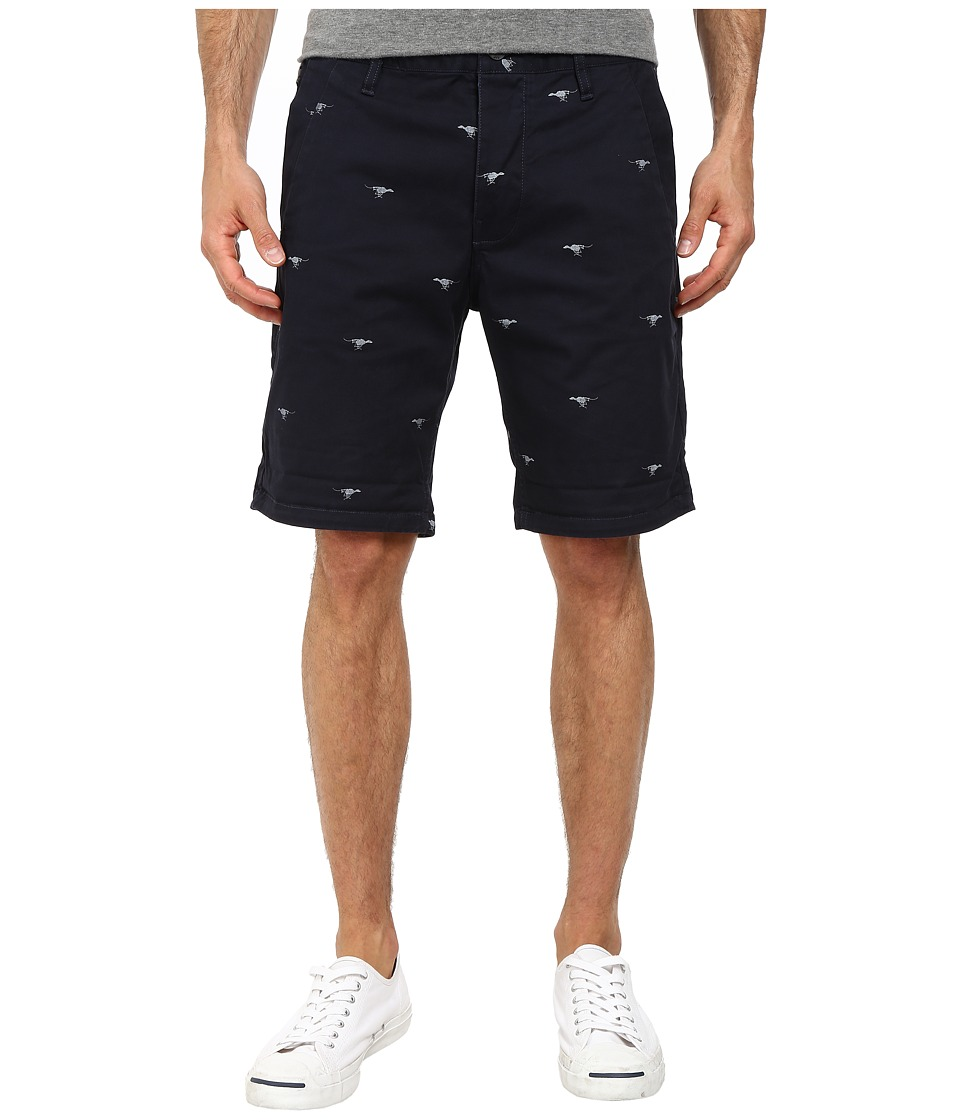 G-Star - Bronson Aop 1/2 Short (Mazarine Blue) Men's Shorts