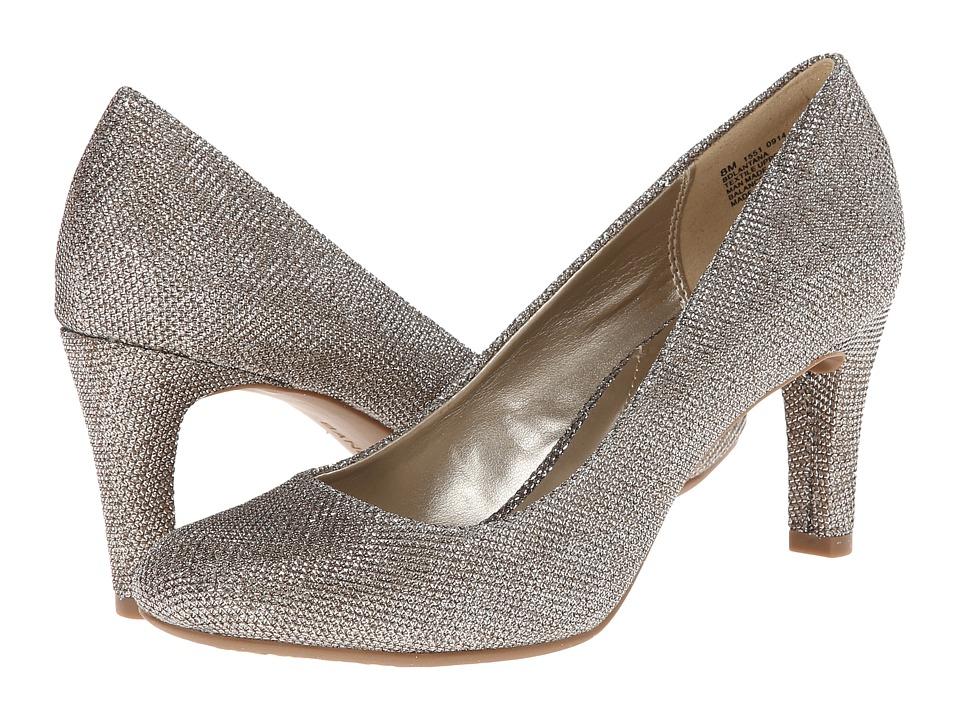 Bandolino Lantana (Gold Fabric) High Heels