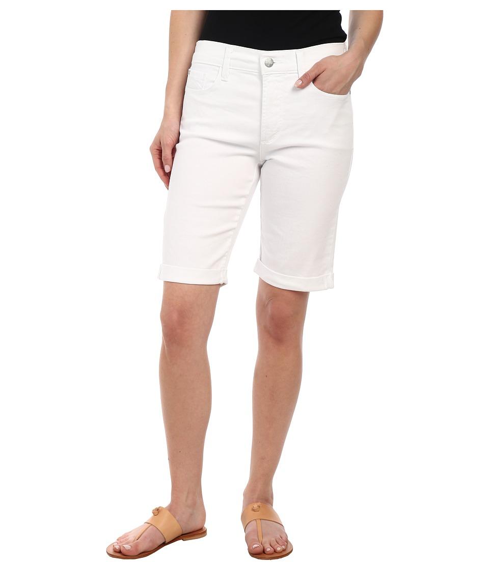 NYDJ Petite - Petite Briella Short in Optic White (Optic White) Women's Shorts