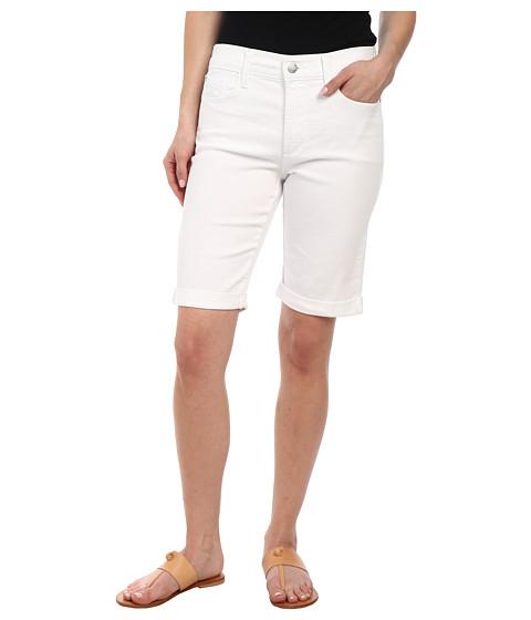 NYDJ Petite - Petite Briella Short in Optic White (Optic White) Women