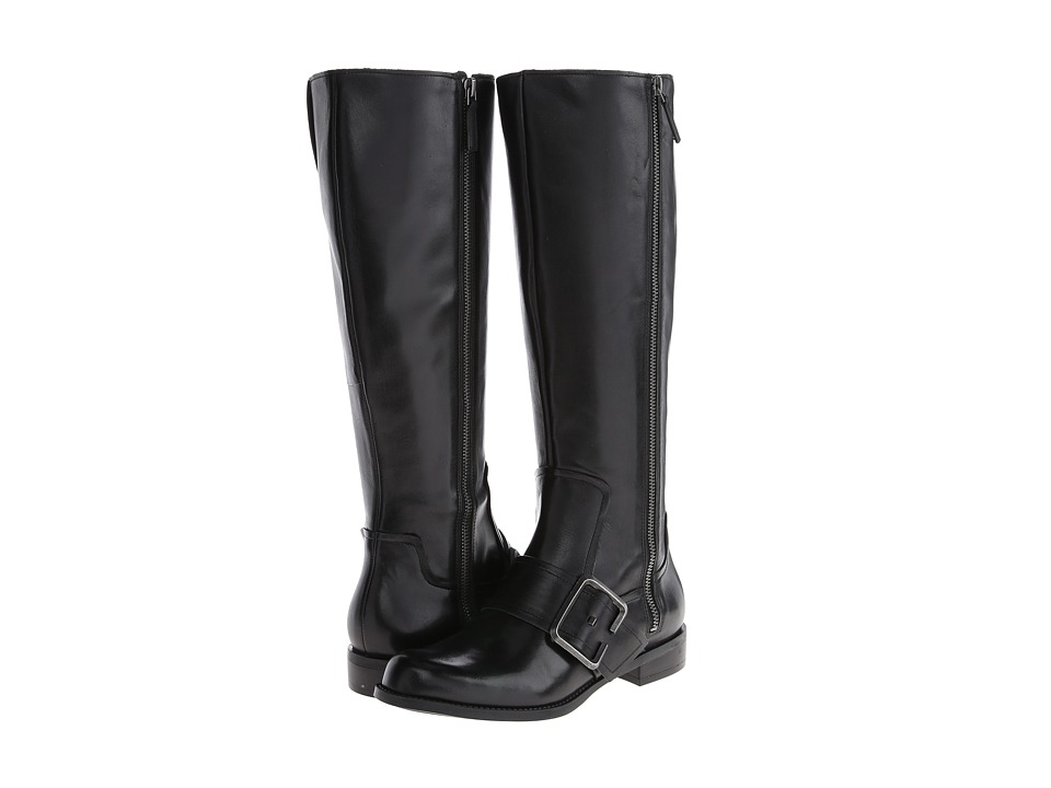 Nine West - Callout Wide Calf (Black) Women's Boots