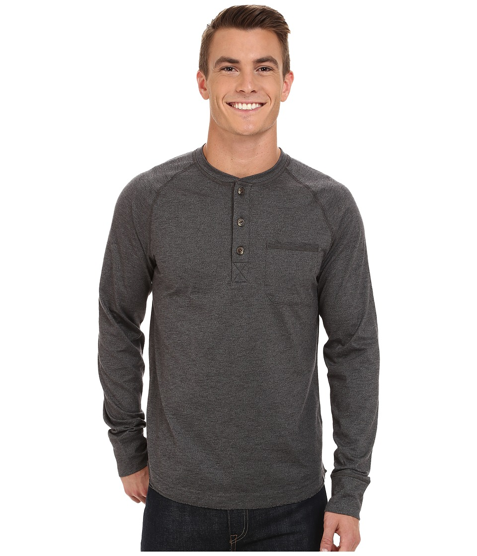 The North Face - Long Sleeve Seward Henley Shirt (Asphalt Grey) Men's Long Sleeve Pullover