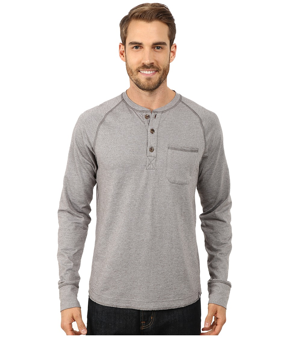 The North Face - Long Sleeve Seward Henley Shirt (High Rise Grey) Men's Long Sleeve Pullover