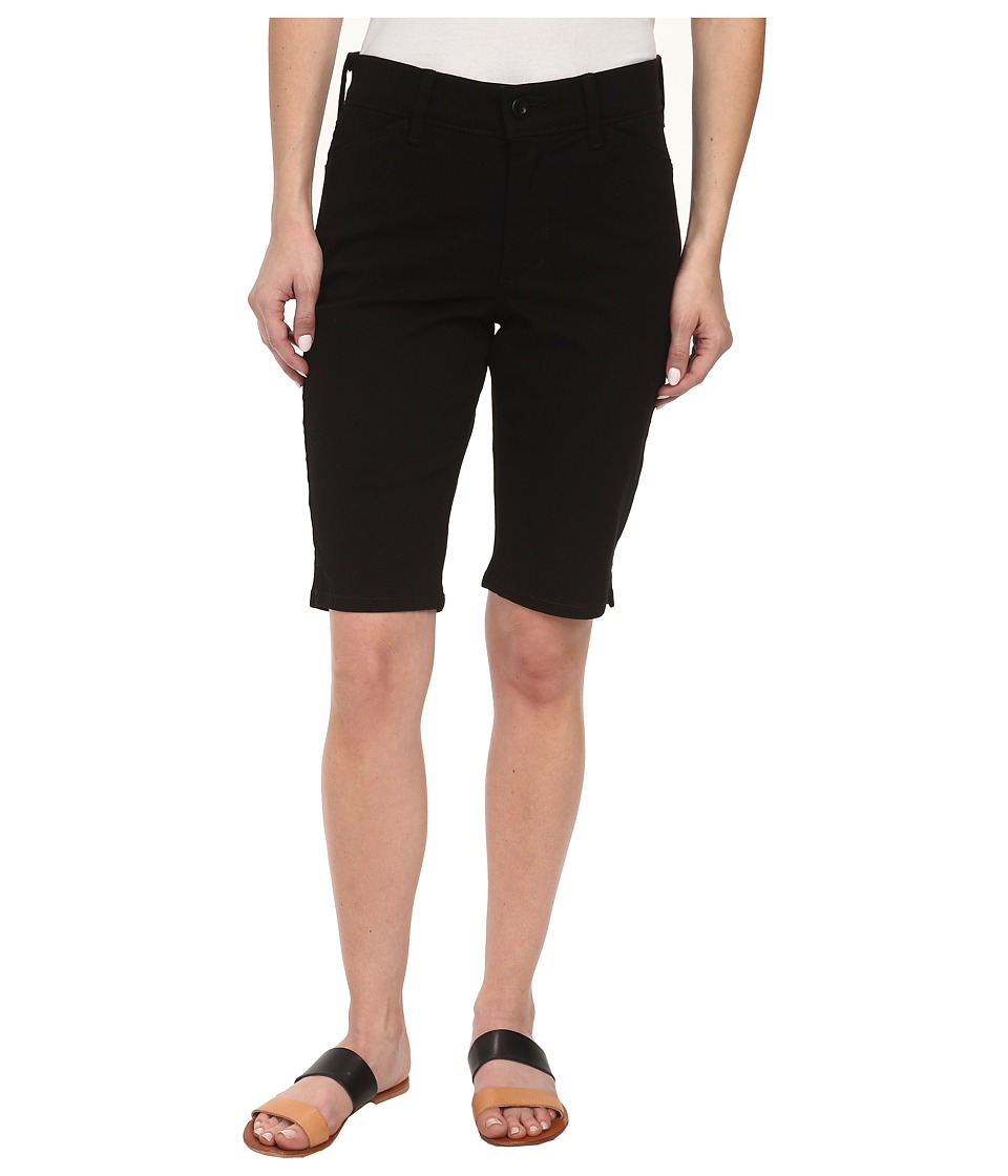 NYDJ Petite - Petite Christy Short in Black (Black) Women's Shorts