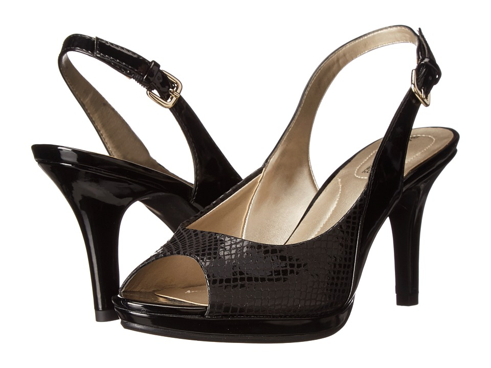 Bandolino - Salima (Black Fabric) High Heels