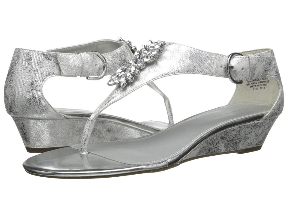 Bandolino - Platana (Silver Synthetic) Women