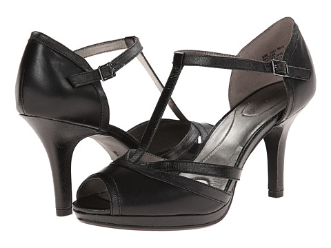 Bandolino - Steam (Black Leather) Women's Shoes
