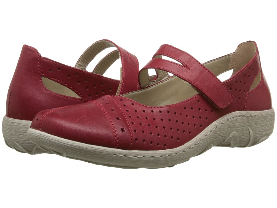 Rieker - R8206 Thekla 06 (Rosso) Women's Shoes