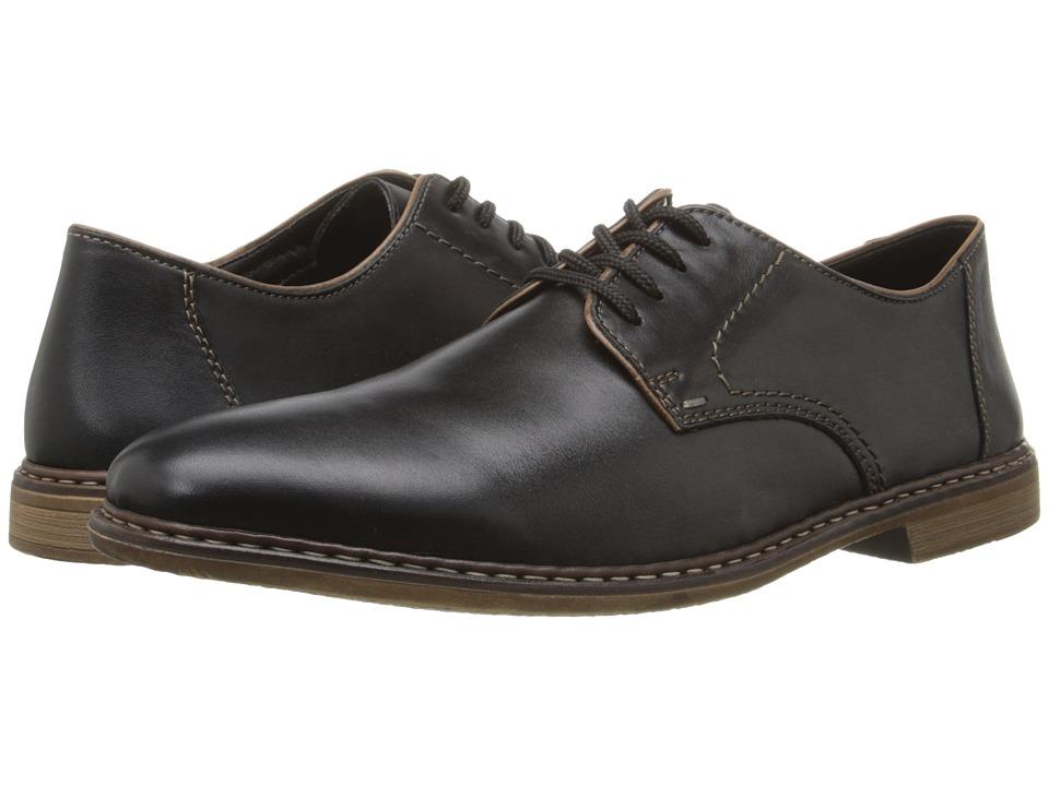 Rieker - 13422 Diego 22 (Nero/Zimt/Schwarz) Men's Shoes
