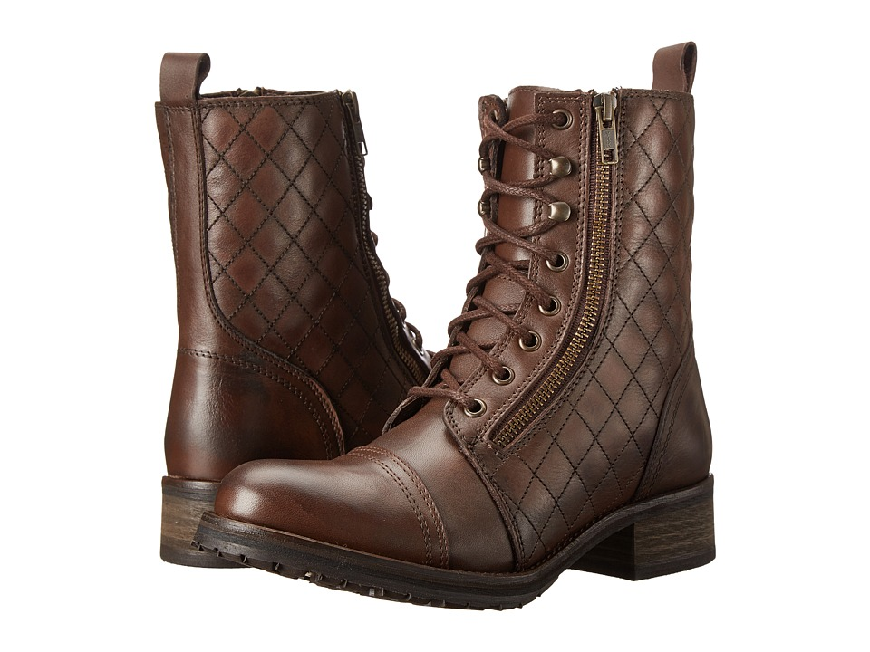 Steve Madden - Yanki (Brown Leather) Women